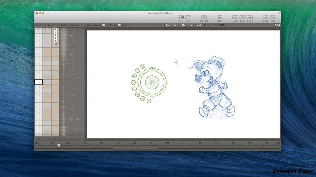 plastic animation paper pap
