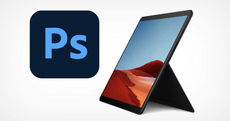 adobe photoshop windows 10 arm support